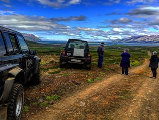 Jeep Safari & Local Beer   Eyjafjorður fjord and the Kaldi Beer Baths