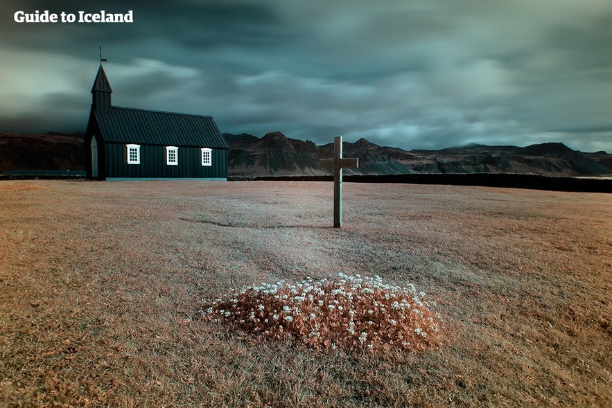 Buðir's charming church
