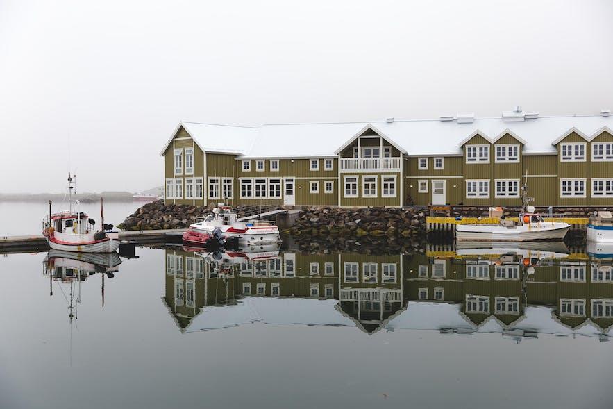 Sigló Hotel, in Siglufjörður