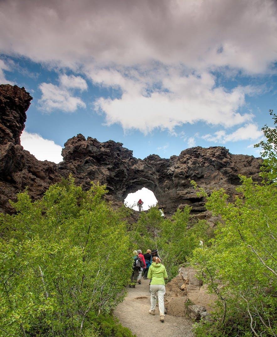 The 'lava fortress'