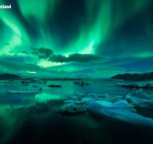 Tour guiado de 8 días en invierno | Alrededor de Islandia en grupo pequeño