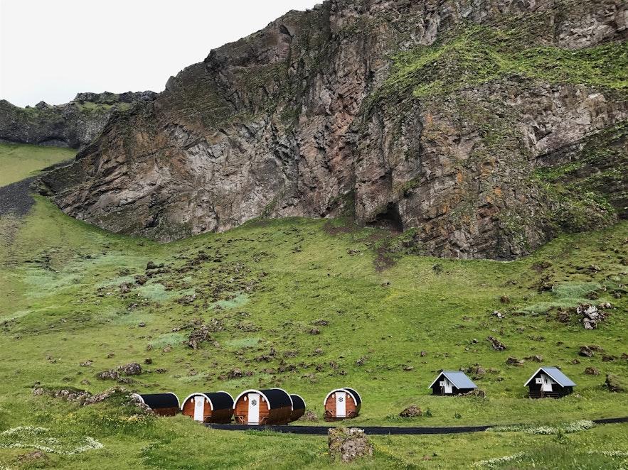 冰島西人島Camp Site 露營房