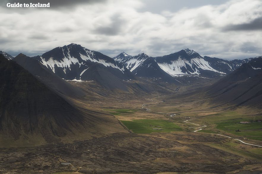 The dramatic mountains of the Westfjords
