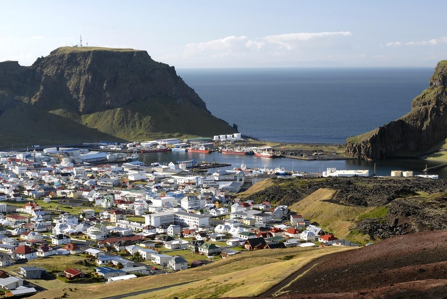 冰島韋斯特曼納群島--西人島