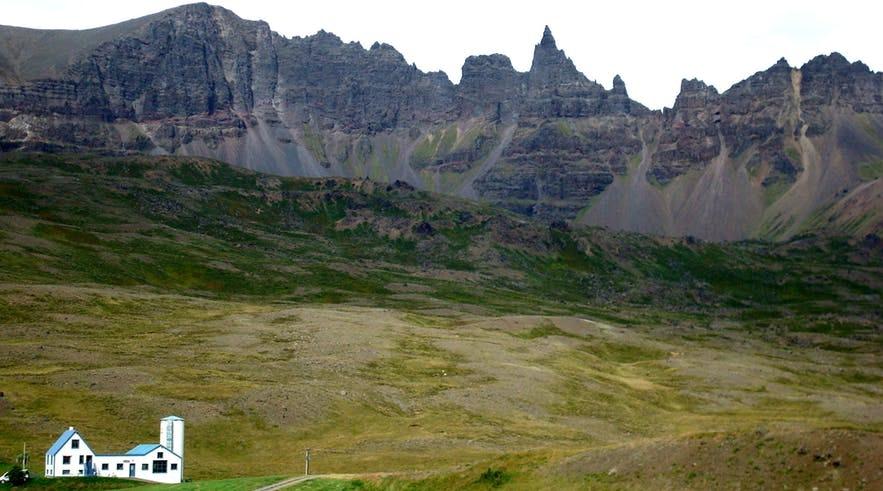 冰島北部Oxnadalur 谷地
