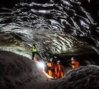Ice Cave Exploration is only possible during the wintertime.