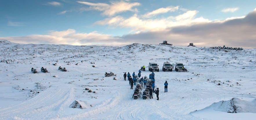 冰島朗格冰川 Langjokull