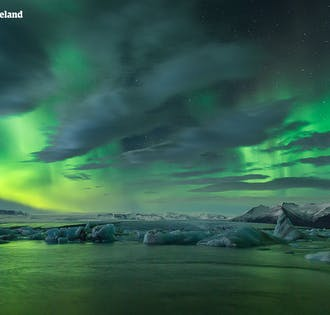 แพ็คเกจ 6 วัน ฤดูหนาวพร้อมไกด์พาเที่ยว  ไฮไลท์ไอซ์แลนด์ตอนใต้ ตะวันออก & เหนือ