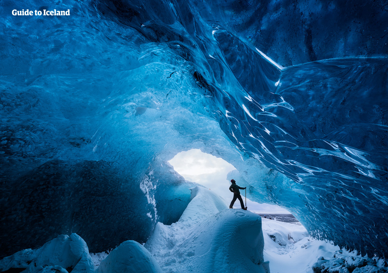 Going into an ice cave is one of the most memorable experiences available to those visiting Iceland.