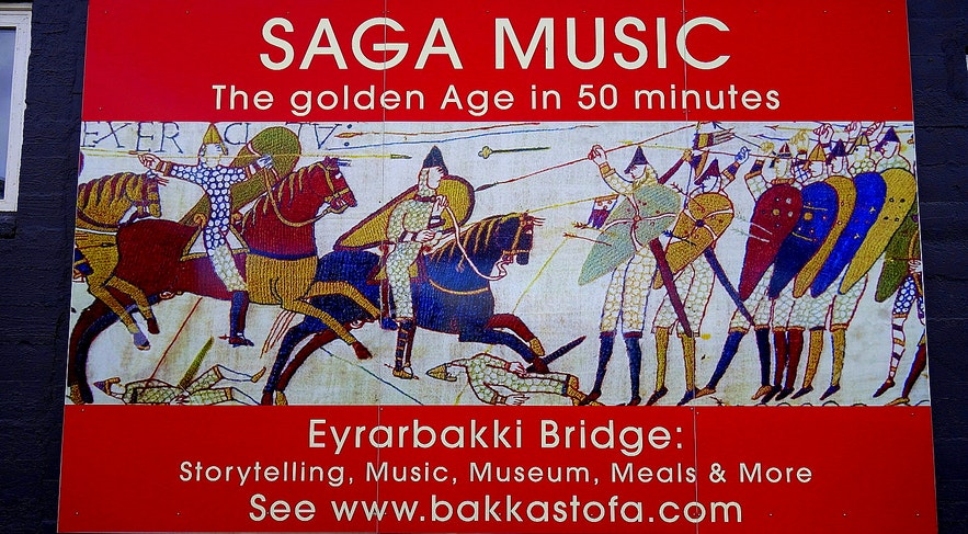Saga Music - the golden age in 50 minutes at Eyrarbakki