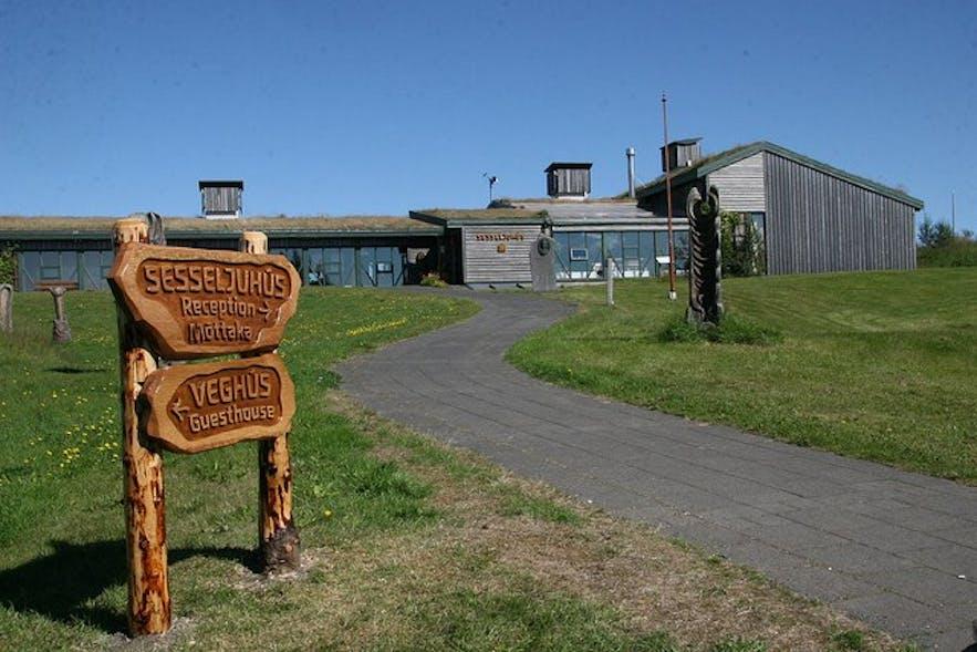 索尔黑马生态村是冰岛西南岸黄金圈景区的小众景点之一