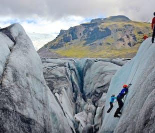 Wspinaczka po lodowcu   Start ze Skaftafell