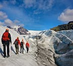 On a glacier hiking tour from Skaftafell Nature Reserve, you'll see the spectacular landscapes of Vatnajökull National Park