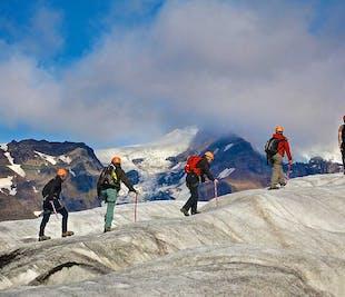 スカフタフェットル発|氷河ハイキングツアー6時間|中級者向け