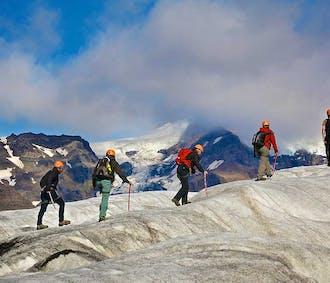 전일 빙하하이킹 모험   스카프타펠 출발
