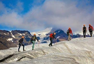 Целый день на леднике   Выезд из национального парка Скафтафетль