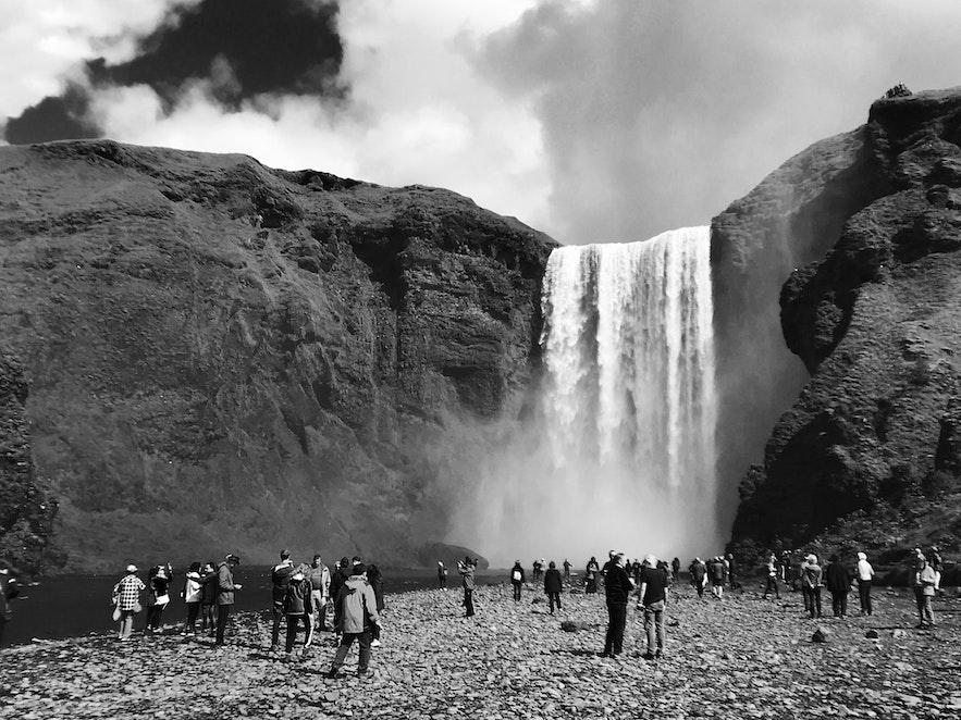 冰島Skogafoss 瀑布