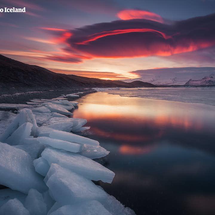 10 dagers leiebiltur med nordlysjakt | I ring rundt Island