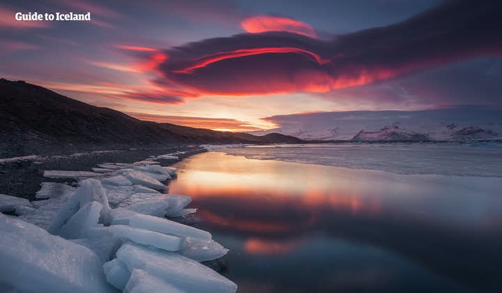 Znakomita 10-dniowa, samodzielna wycieczka pełna zorzy polarnej, po całej obwodnicy Islandii