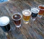 Die Brauerei Kaldi in Nordisland bietet eine Bierverkostung an.