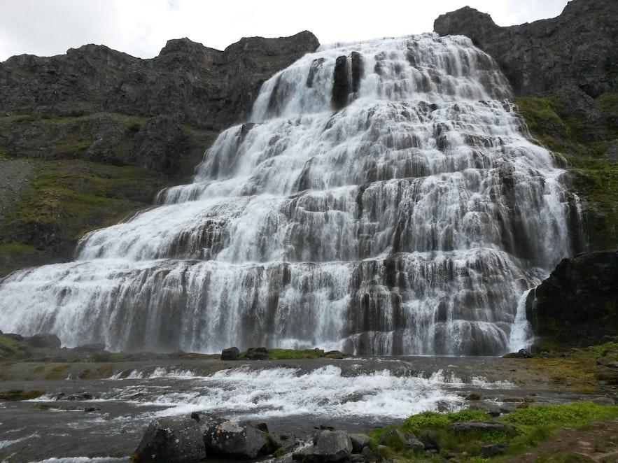 冰島西部Dynjandi 瀑布