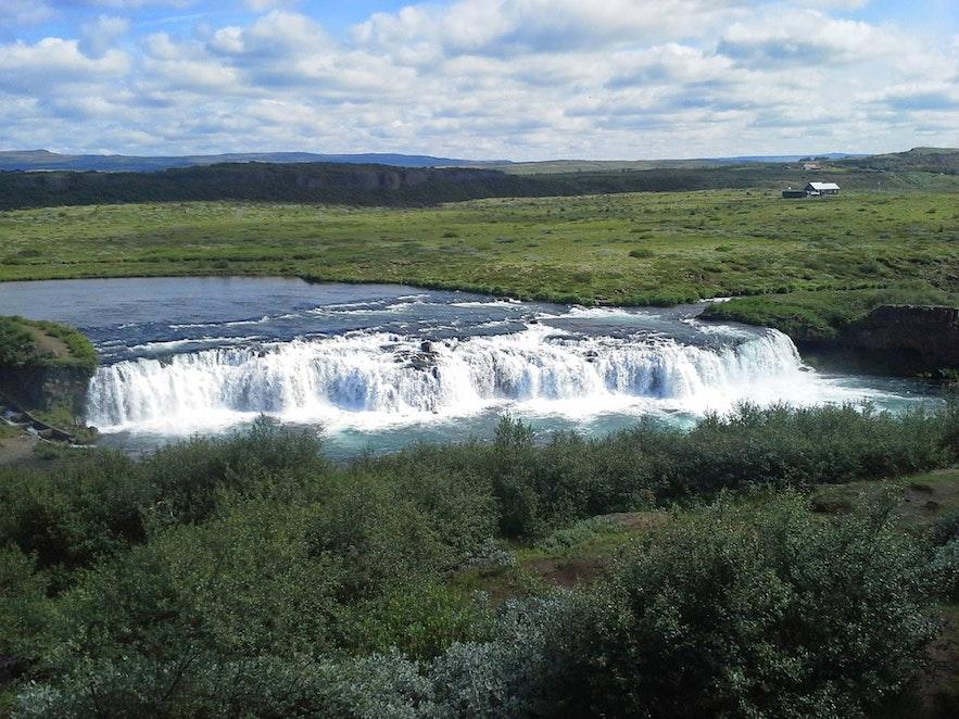 冰島Faxi 瀑布