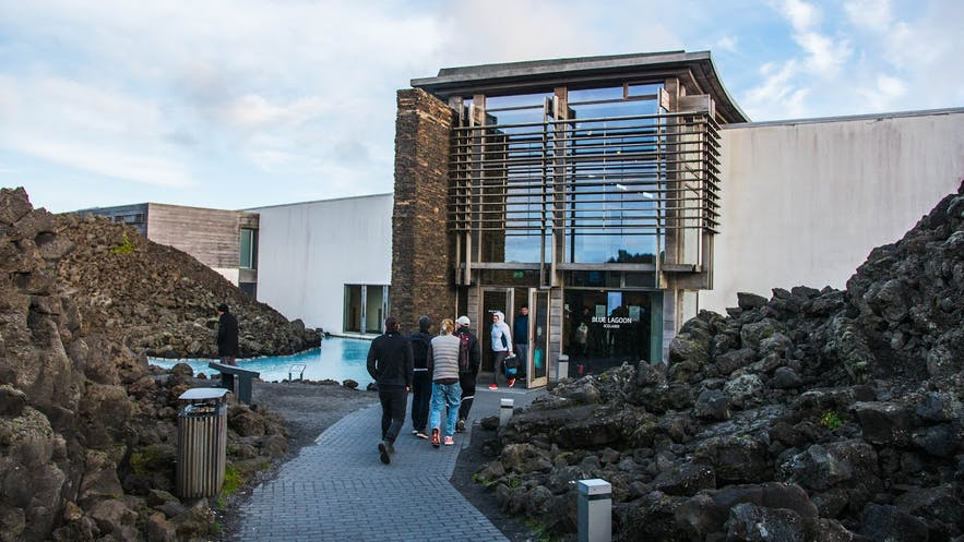 Eingang der Blauen Lagune