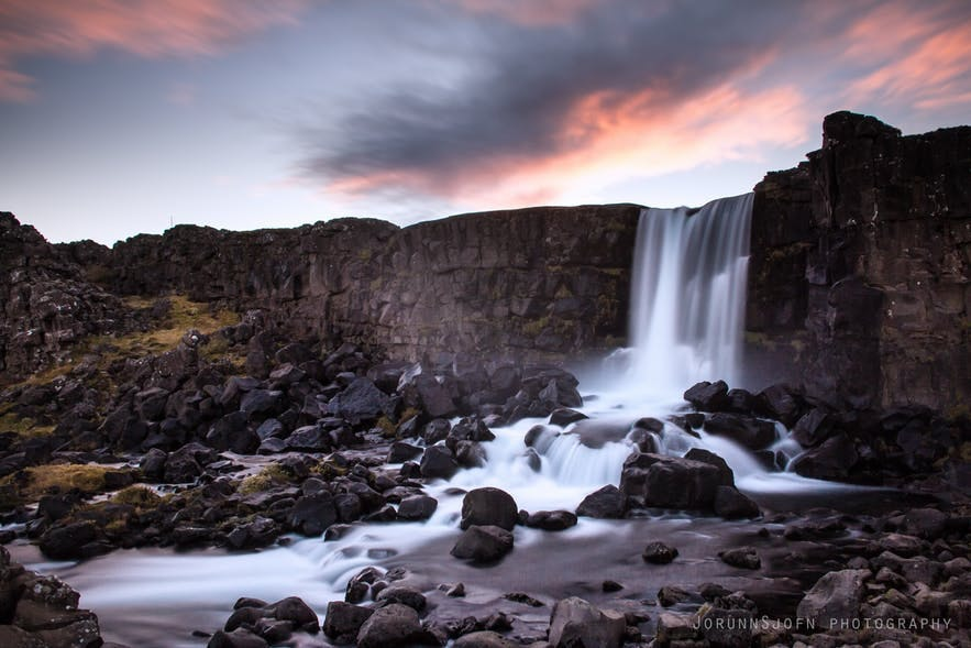 冰島Oxararfoss
