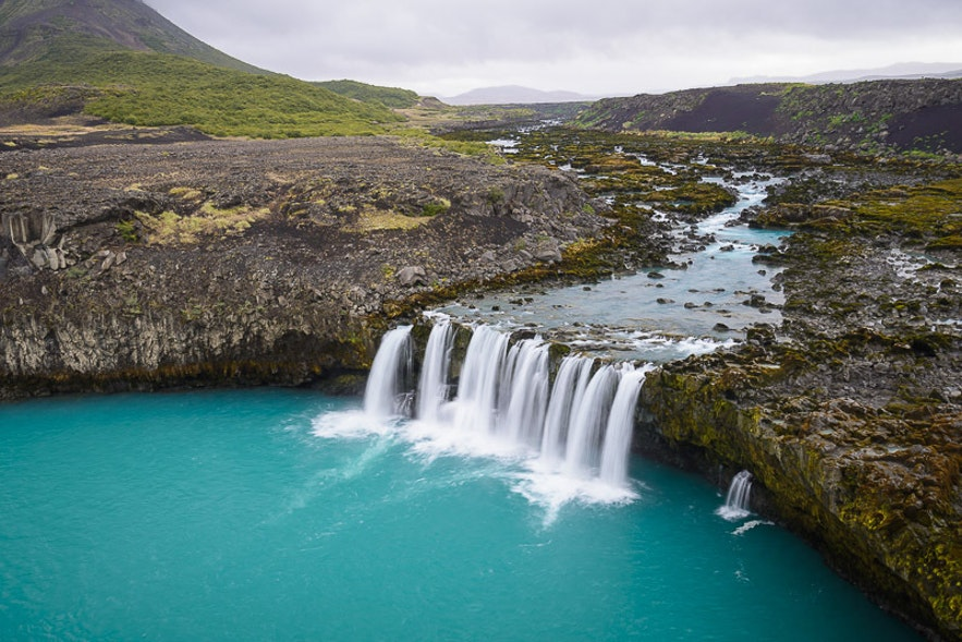 冰島小偷瀑布 Thjofafoss