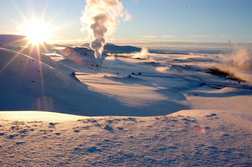 冰岛米湖地区