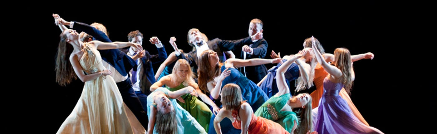 Iceland Dance Company performing