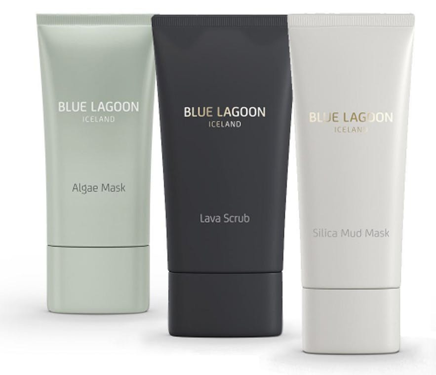 Productos de la Laguna Azul para la piel