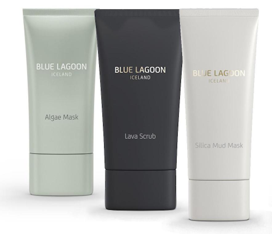 Produkty kosmetyczne Blue Lagoon.