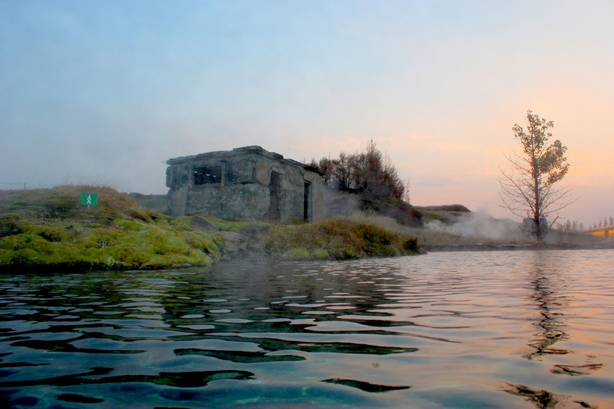 Secret Lagoon en Islande