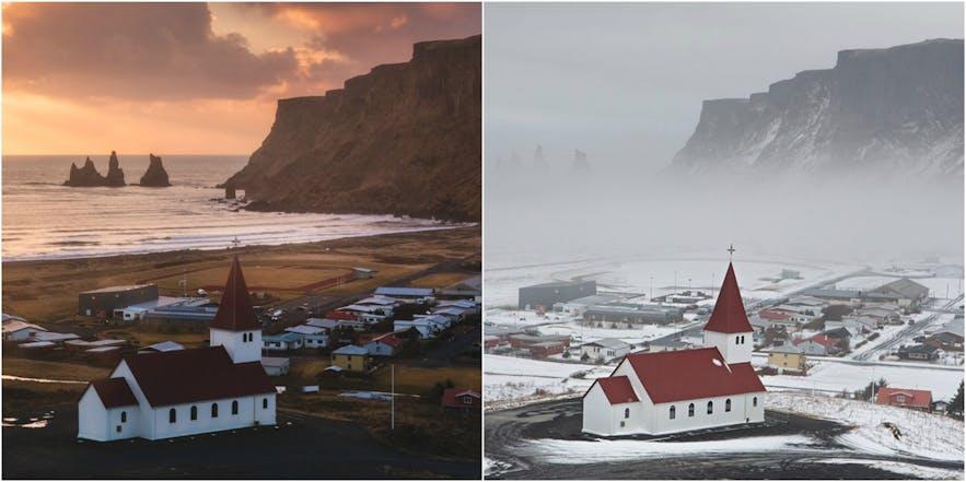 冰岛的冬季和夏季各有特色,一生中至少要来冰岛旅行两次。