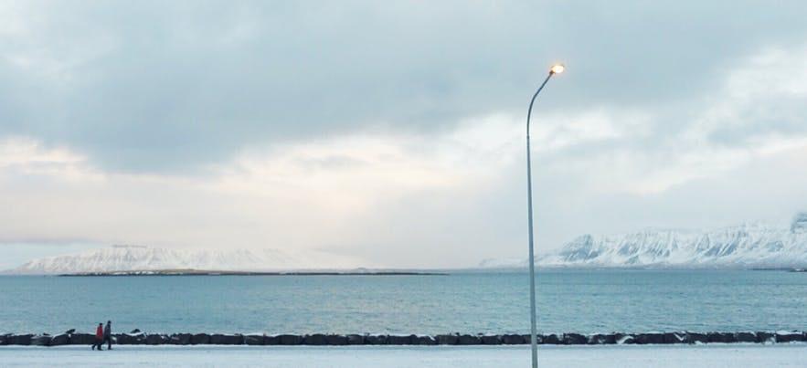 冰島Esjan 山