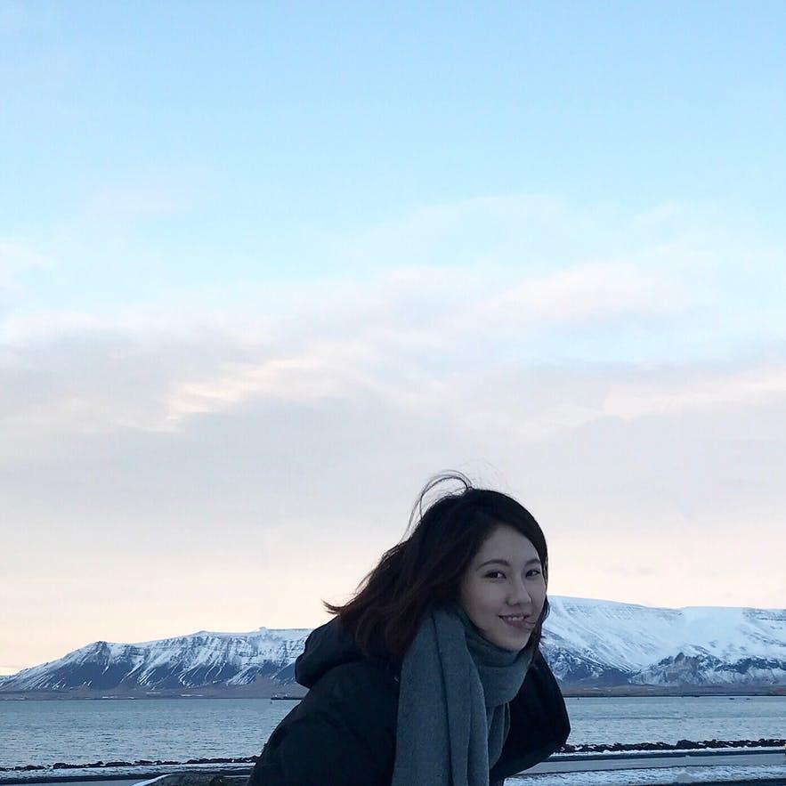 冰島Esjan 山 合照