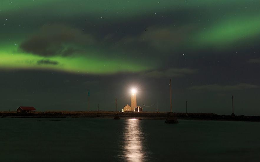 冰島雷克雅維克Grótta 燈塔