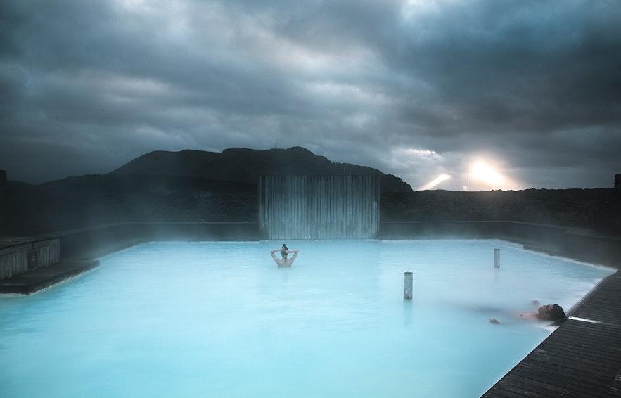 在蓝湖的Silica酒店入住可以有私人温泉浴池