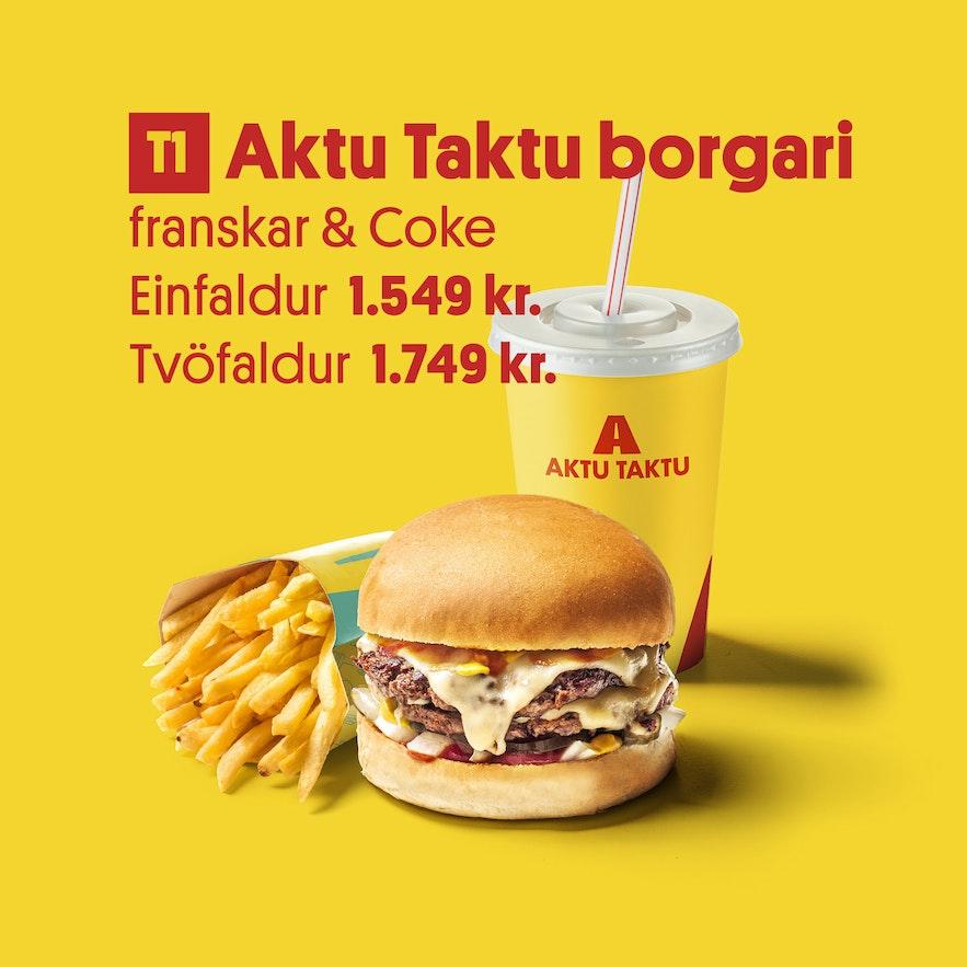冰島麥當勞Aktutaktu
