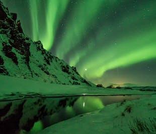 レイキャビク発 西南部アイスランドからオーロラを望む