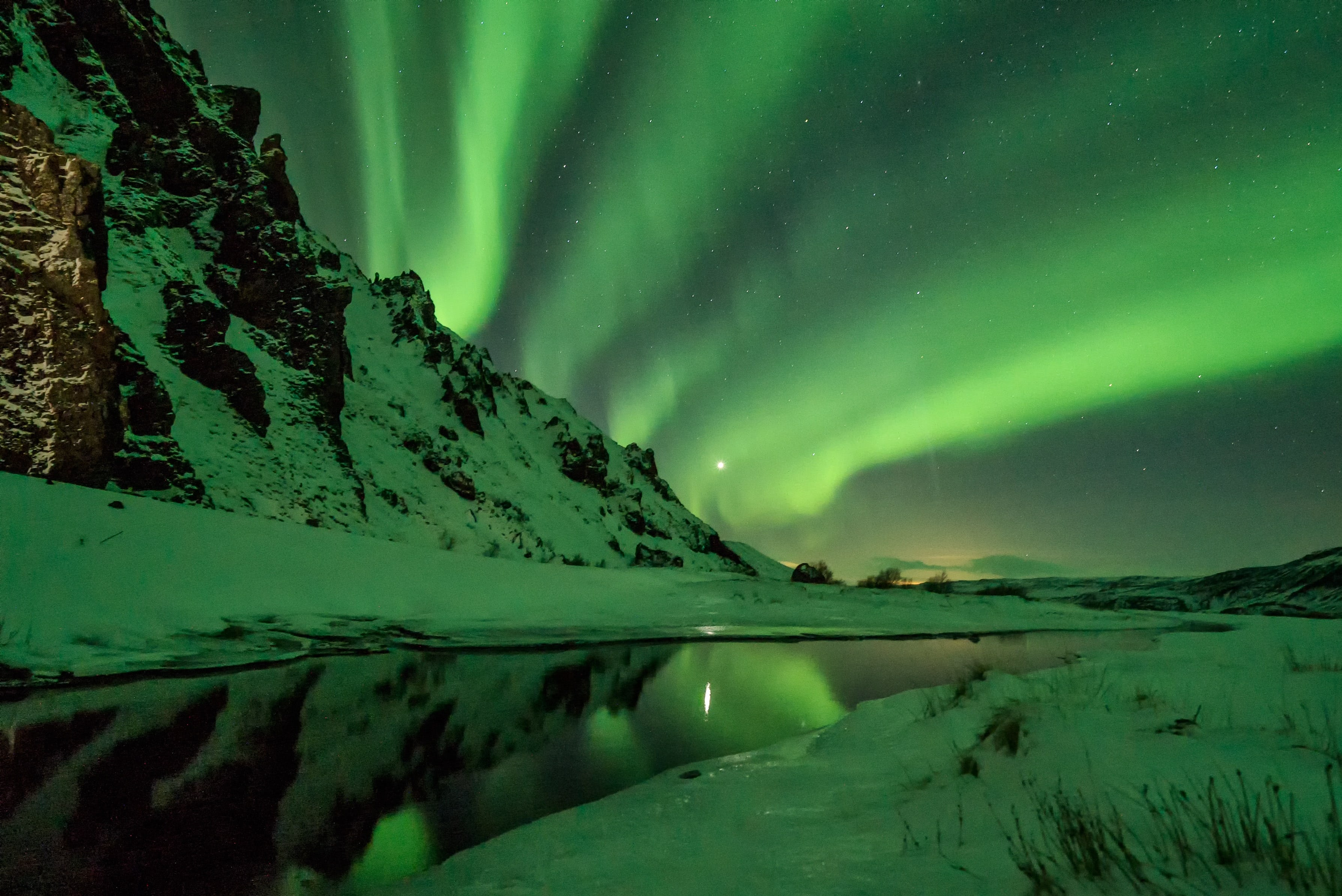 The Northern Lights are stunning to behold.