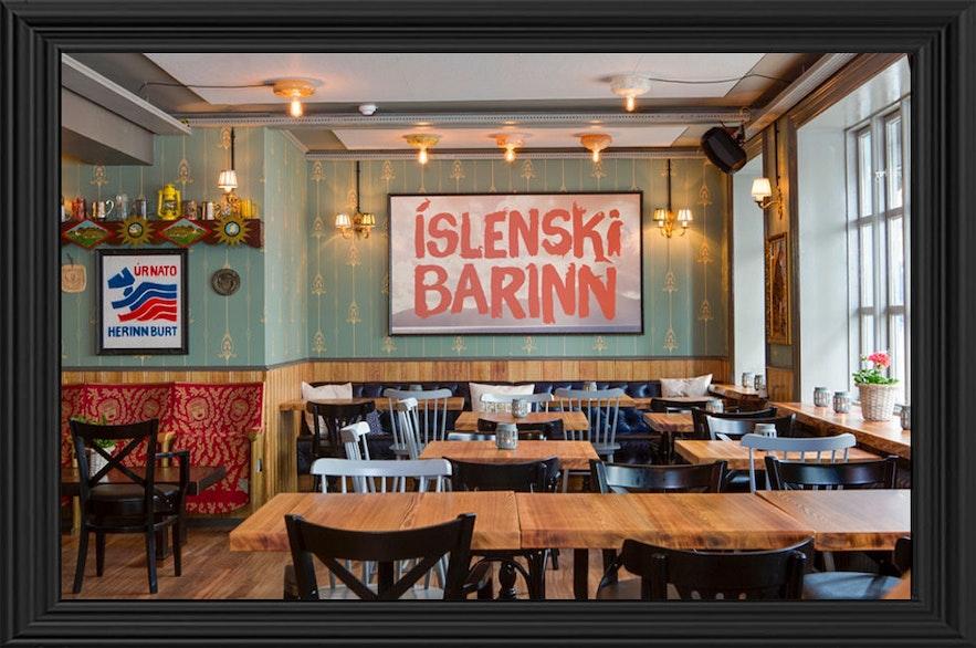冰島本地傳統餐廳 islenski barinn