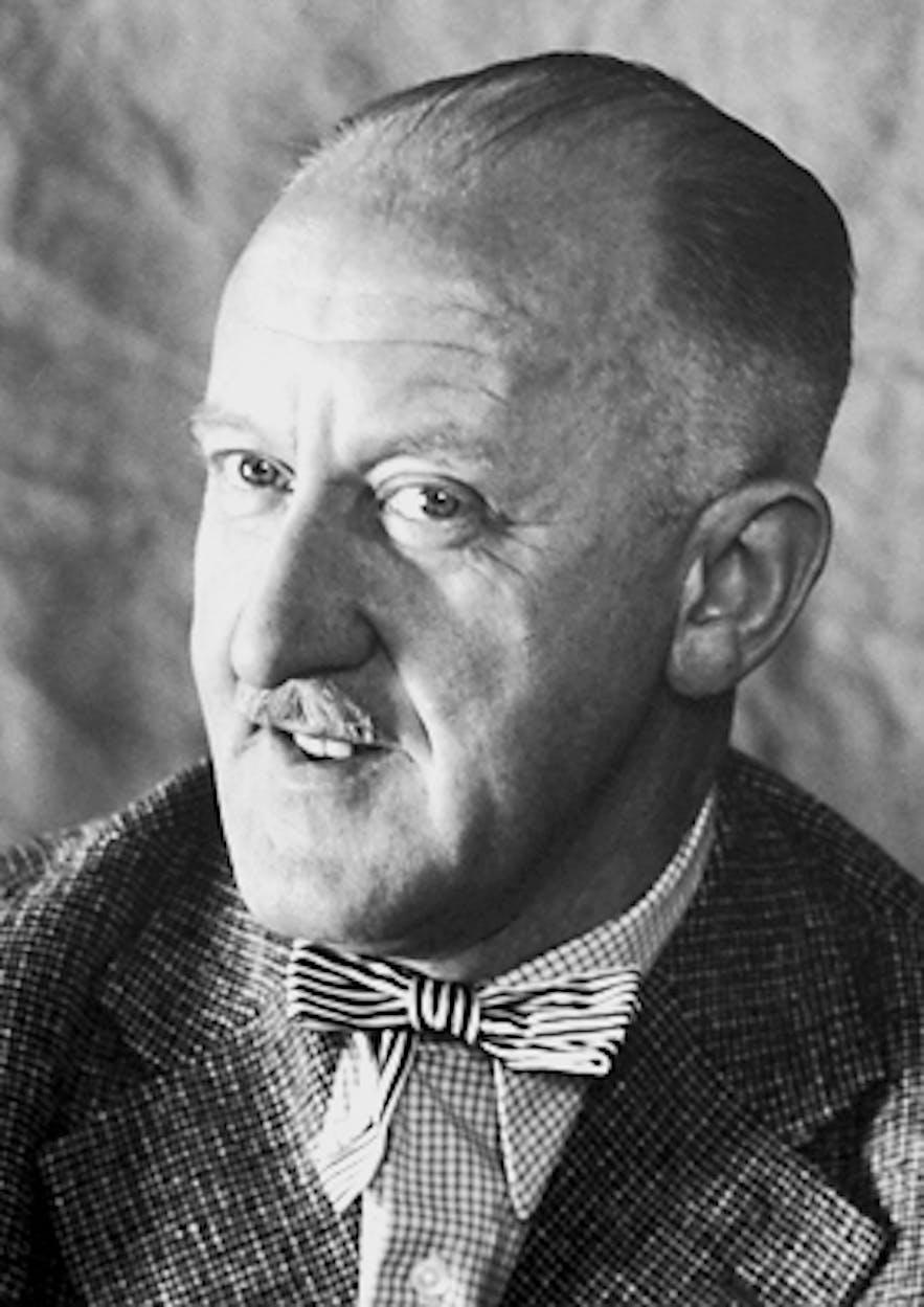 Halldór Laxness in 1955