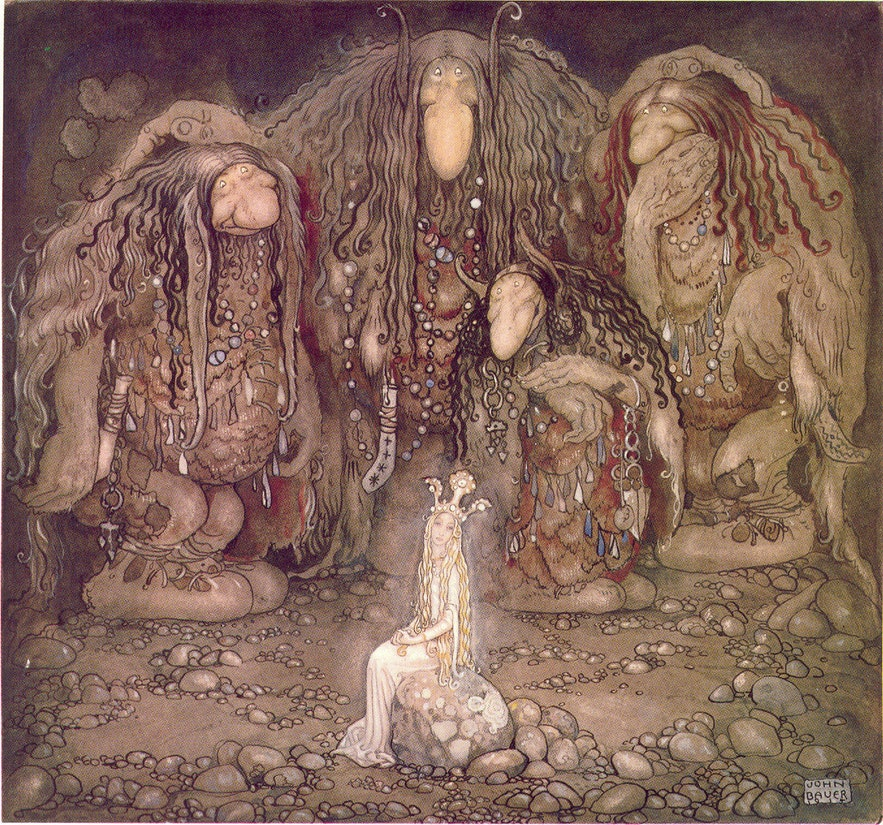 'Mother Troll and Her Sons', by John Bauer