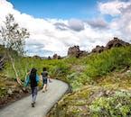 Dimmuborgir in Island verfügt über malerische Wanderwege.