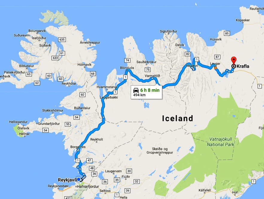 The amazing Mývatn Area in North-Iceland - Part I