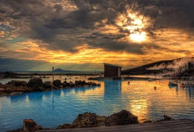 Goðafoss Waterfall and the Myvatn Nature Baths   Luxurious Day Tour from Akureyri