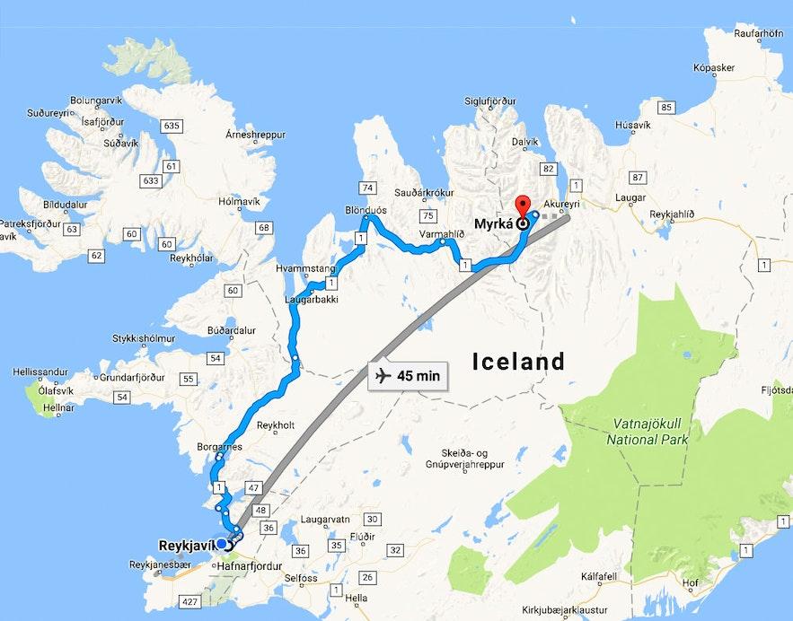 The Deacon of Dark River - Djákninn á Myrká - a Ghost Story from North-Iceland