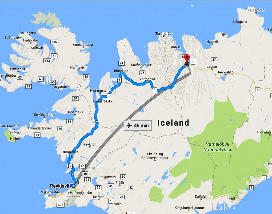 Eyjafjörður Fjord in North-Iceland - Part III - the Historical Gásir and the Vikings